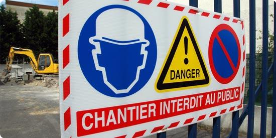 chantier et prévention